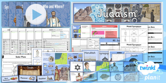 RE: Judaism Year 3 Unit Pack
