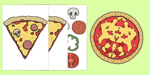 Pizza Role Play Props