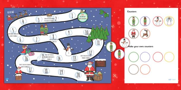 Christmas Board Games - christmas, christmas board games, board games, christmas themed games, christmas themed board games, christmas activity