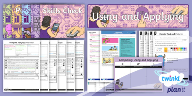 Computing Using and Applying Year 1 Unit Pack