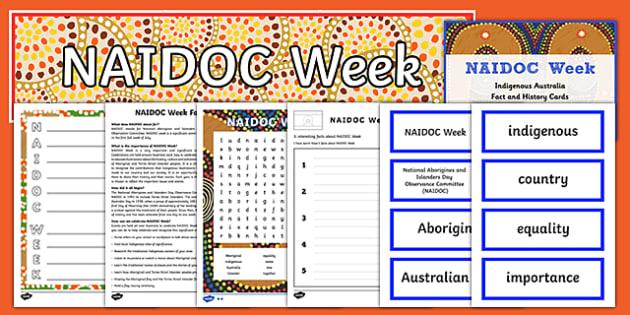 NAIDOC Week Activity Pack