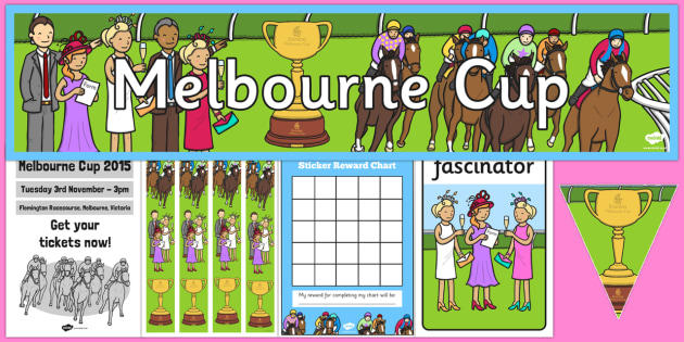 The Melbourne Cup Display Pack - australia, melbourne cup, display, pack