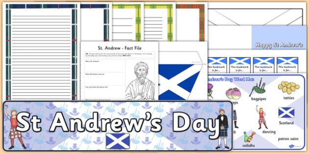 Top 10 St Andrew's Day - cfe, top ten, resources, st andrews day, st andrew, event