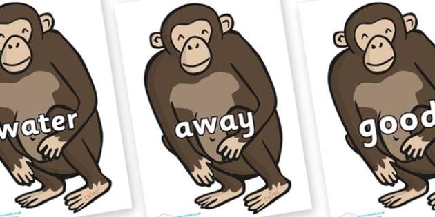 Next 200 Common Words on Chimps - Next 200 Common Words on  - DfES Letters and Sounds, Letters and Sounds, Letters and sounds words, Common words, 200 common words