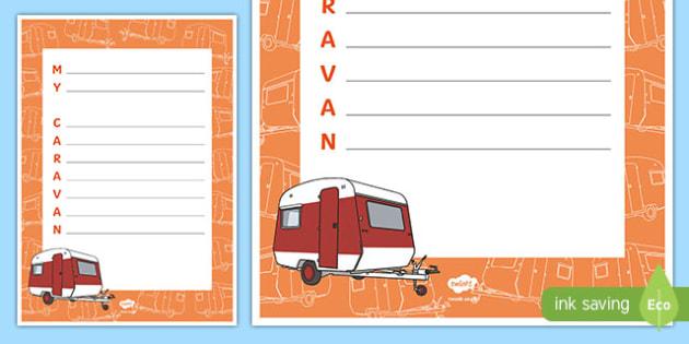 My Caravan Acrostic Poem
