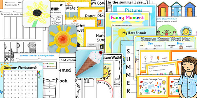 KS1 Summer End of Year Activity Pack - KS1 Transition Ideas