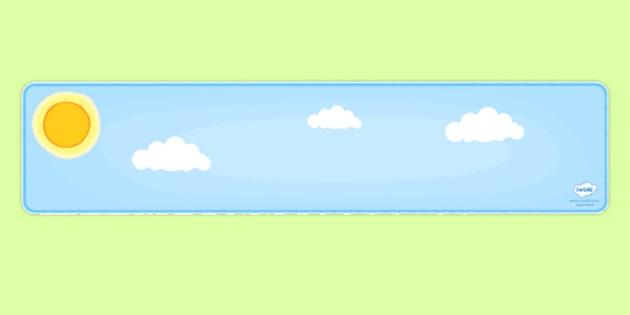 Editable Banner Day Sky - editable banner, banner, editable, day sky, day sky banner, sky banner, day banner, display banner, header, display header