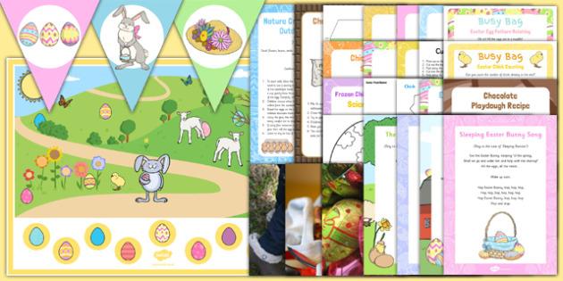 Childminder Easter Resource Pack - religion, christianity, minder