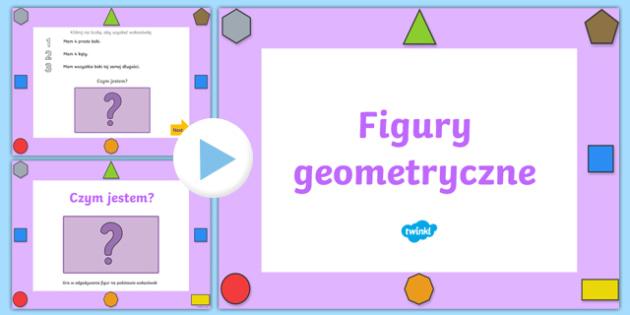 Prezentacja PowerPoint Jaką figurą geometryczną jestem?