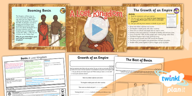 History: Benin: A Lost Kingdom UKS2 Lesson Pack 6