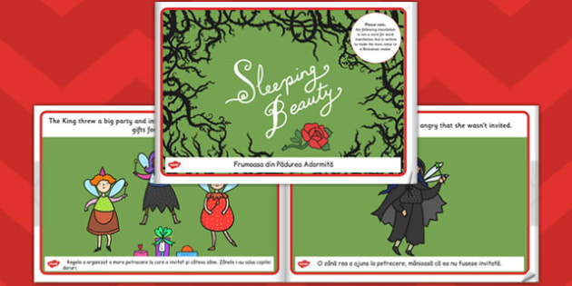 Sleeping Beauty eBook EAL Romanian Translation - ebook, romanian