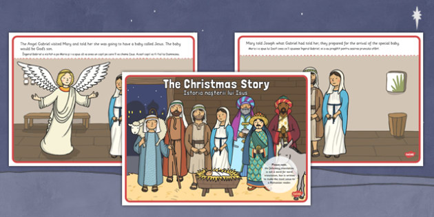 The Christmas Story Romanian Translation - romanian, christmas story, christmas, story