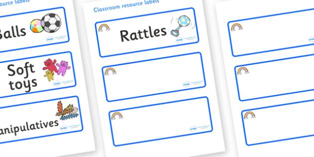 Rainbow Themed Editable Additional Resource Labels - Themed Label template, Resource Label, Name Labels, Editable Labels, Drawer Labels, KS1 Labels, Foundation Labels, Foundation Stage Labels, Teaching Labels, Resource Labels, Tray Labels, Printable