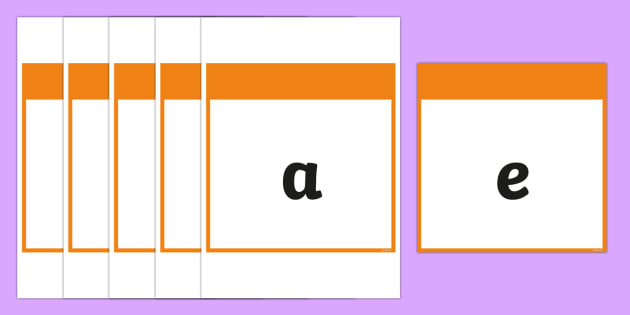Phase 2 Square Large Display Cards - Phonemes, Phase 2, Phase two, Mnemonic cards, DfES Letters and Sounds, Letters and sounds, Letter flashcards, Image and Word Cards
