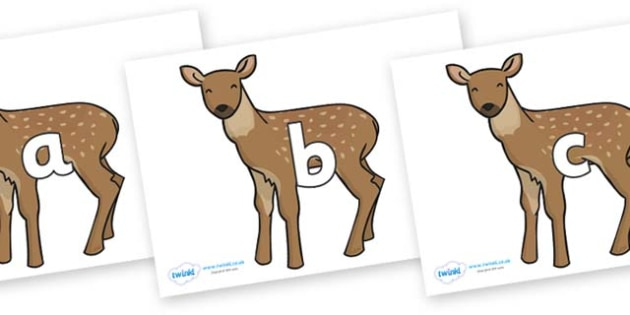 Phase 2 Phonemes on Fawns - Phonemes, phoneme, Phase 2, Phase two, Foundation, Literacy, Letters and Sounds, DfES, display