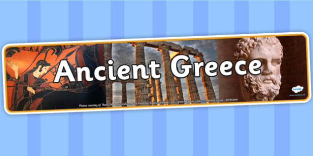 Ancient Greece Photo Display Banner - ancient greece, photo display banner, display banner, banner, photo banner, header, display header, photo header