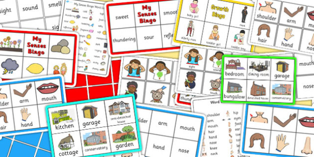 All About Me Bingo Pack - all about me, bingo, pack, activity