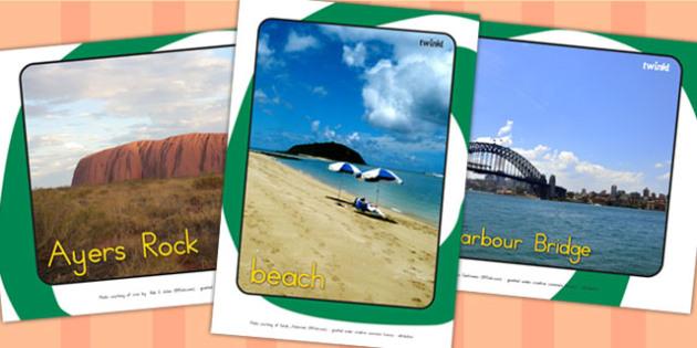 Australian Display Photos - australia, display, classroom display
