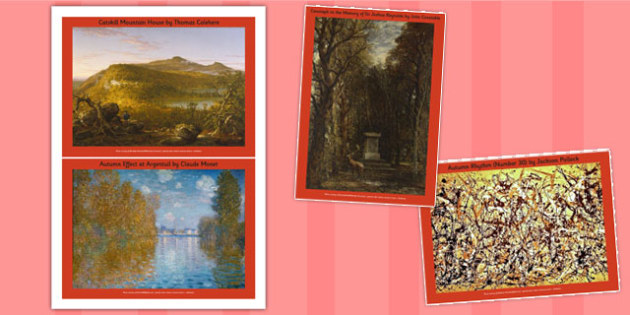 Autumn Paintings Photopack - photo, pack, autumn, paintings