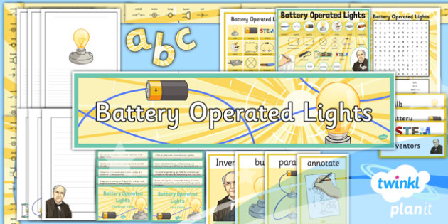 DT: Battery Operated Lights LKS2 Unit Additional Resources
