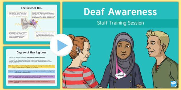 Deaf Awareness Staff Training PowerPoint-Scottish