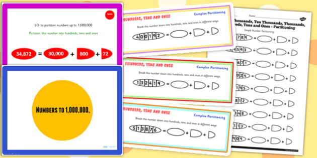 Year 5 Numbers to 1000000 Lesson 2 Teaching Pack - numeracy