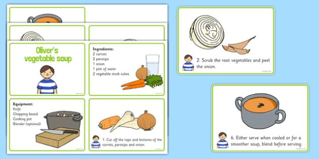 Oliver's Vegetable Soup  Recipe