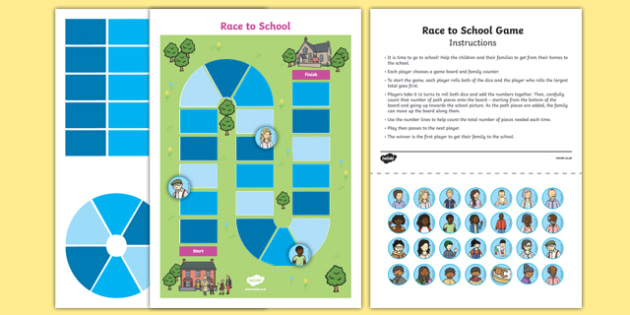 Race to School Game