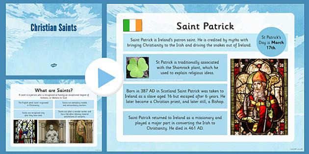 Christian Saints PowerPoint Pack - christian saints, powerpoint, pack, christian, saints