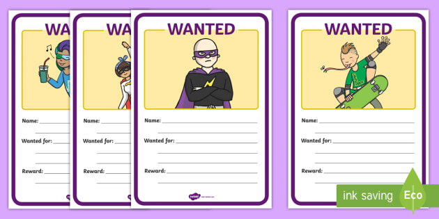 Superheroes Wanted Posters - Superhero, superheroes, display, poster, wanted, hero, batman, superman, spiderman, special, power, powers, catwoman, liono, he-man