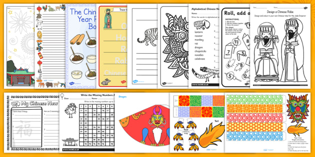 Home Educator Chinese New Year Resource Pack - chinese, new year