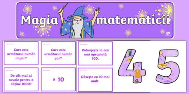Magia matematicii - Pachet cu materiale