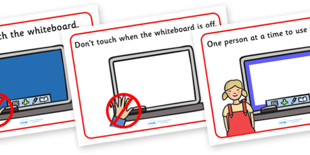 Interactive Whiteboard Rules Display Posters - interactive whiteboard rules display posters, display, posters, sign, rules, rule, interactive, whiteboard, writing white board, don't touch, interactive whiteboard
