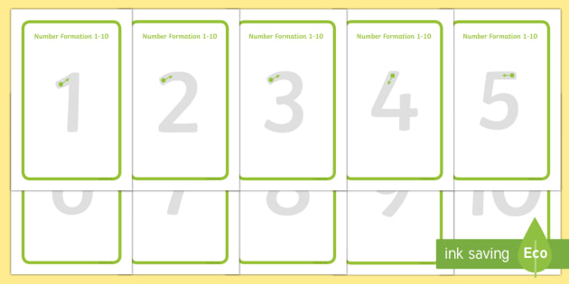 IKEA Tolsby Number Formation 1-10 Prompt Frame - ikea tolsby, frame, number formation, number, formation, 1-10, prompt frame, overwriting