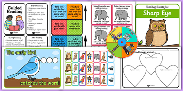 Guided Reading Resource Pack - guided reading, pack, reading, literacy