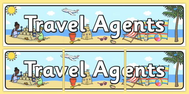 Travel Agents Themed Banner - travel agents, banner
