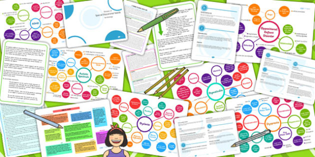 SEN Information Guide Resource Pack - sen, guide, pack, info