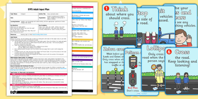 Stop Look and Listen EYFS Adult Input Plan and Resource Pack