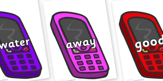 Next 200 Common Words on Mobiles - Next 200 Common Words on  - DfES Letters and Sounds, Letters and Sounds, Letters and sounds words, Common words, 200 common words