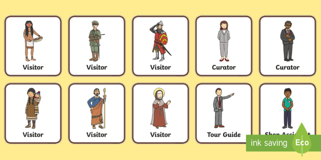Museum Role Play Badges - museum, role play, badges, role play badges, museum role play, museum badges, badges for role play, museum role play, props