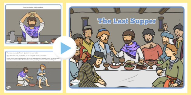 The Last Supper Story PowerPoint - story, christianity, religion