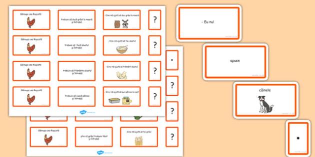 Construim Propoziti cu Cuvinte si Imagini, Gainusa cea Roscata