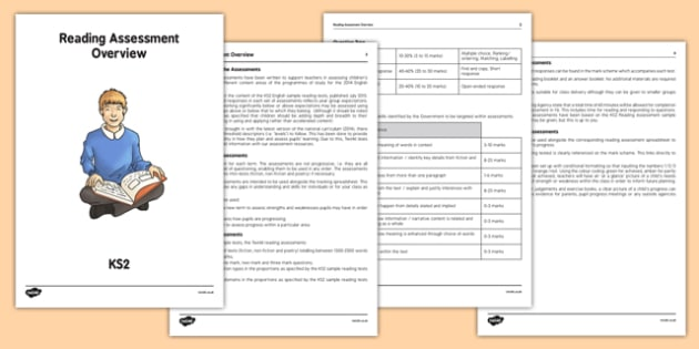 Reading Assessment Overview KS2 - KS2 English Planning and Assessment