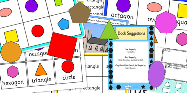 EYFS 2D Shapes Number Sack - EYFS, 2D, shapes, numeracy, number