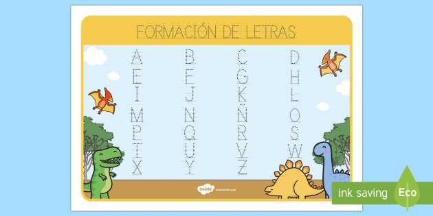 Tapiz de formación de letras: Los dinosaurios - Los dinosaurios, proyecto, transcurricular, seres vivos, estegosaurio, pterodáctilo, braquiosauro,
