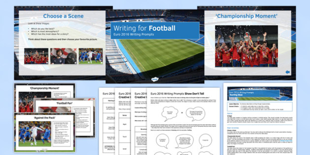 Euro 2016 Writing Prompts