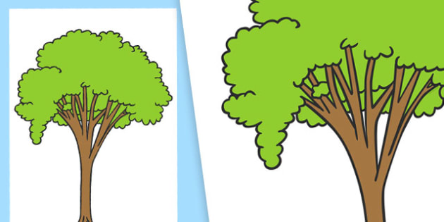 Large Tree Cut Out - large tree, cut outs, large, tree, cut, outs, display