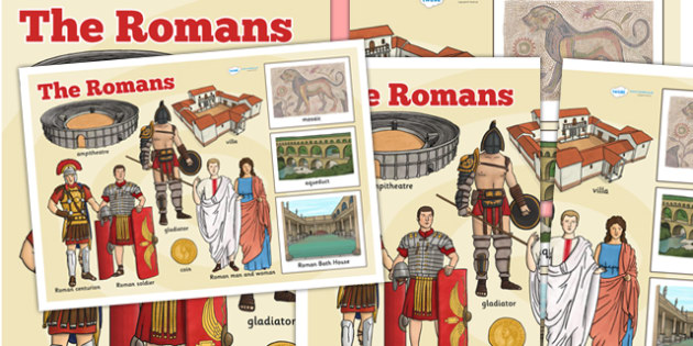 The Romans Large Information Display Poster - roman, poster