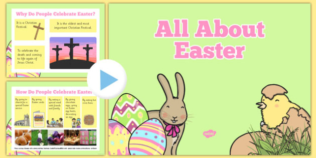 SEN All About Easter PowerPoint - easter, SEN, easter story, P Scales