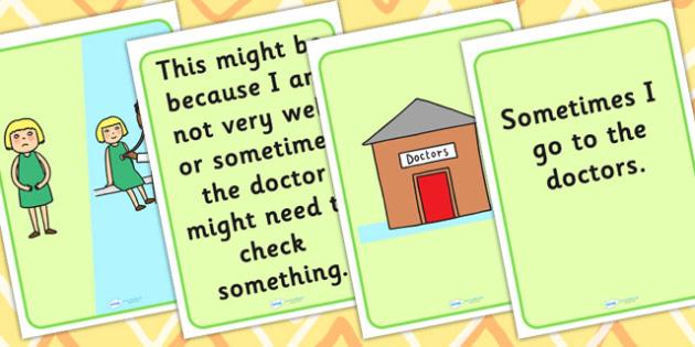 Going To The Doctors Social Situation - social stories, stories, SEN, SEN stories